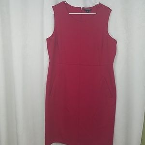 Lands End Dress With Pockets  Size 18